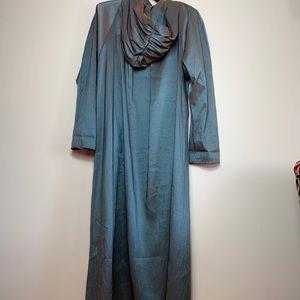 vintage maralyce ferree rain trench coat